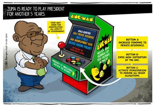'Zuma's Next Level': Africartoons.com