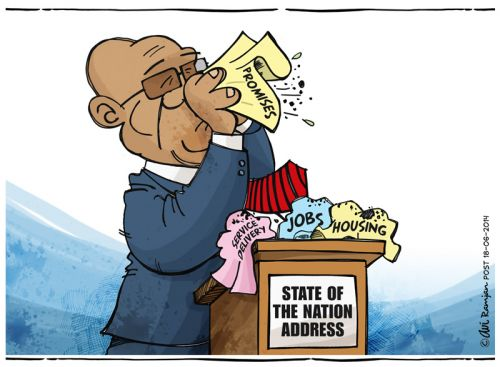 'SA problems are nothing to be sneezed at!': Africartoons.com