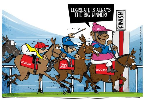 'Legislate Wins.': Africartoons.com