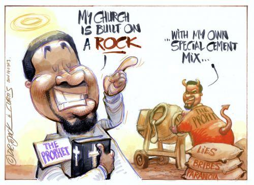 '20140923_Dr Jack and Curtis': Africartoons.com