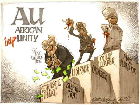 '20150621_Dr Jack and Curtis': Africartoons.com