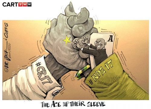 '20171220_Dr Jack and Curtis': Africartoons.com