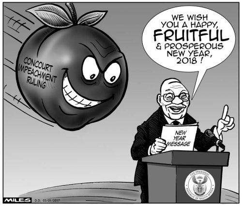 'Ripe to fall': Africartoons.com