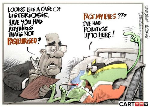 'Sick and Tired': Africartoons.com