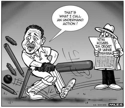 'Just not Cricket': Africartoons.com