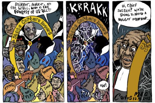'Mirror, mirror on the wall': Africartoons.com