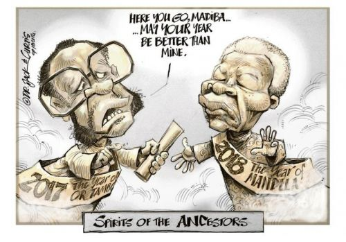 '20180114_Dr Jack and Curtis': Africartoons.com