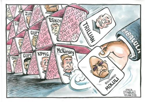 'House of Cards': Africartoons.com