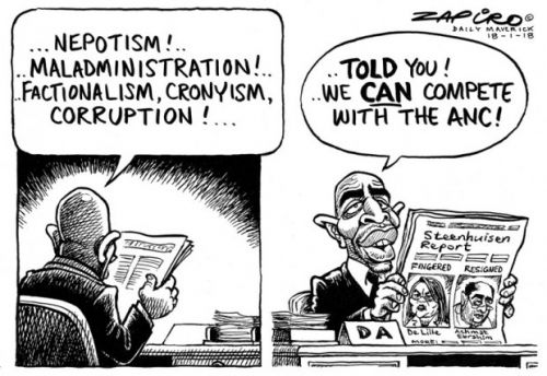 'Corruption Creep': Africartoons.com