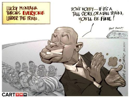 'Derailing Corruption': Africartoons.com