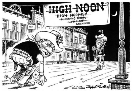 'High Noon': Africartoons.com
