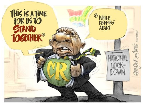 '20200325_Dr Jack and Curtis': Africartoons.com