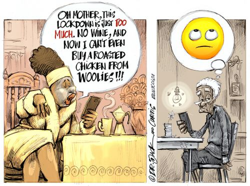 '20200421_Dr Jack and Curtis': Africartoons.com