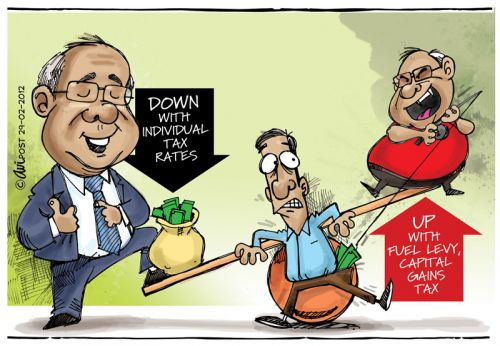 'Government giveth and then taketh away!': Africartoons.com
