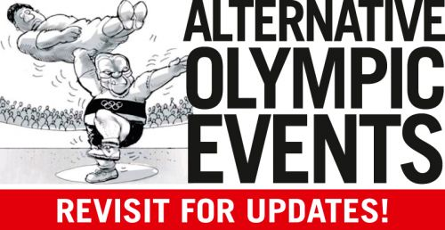 'Alternative Olympic Events': Africartoons.com