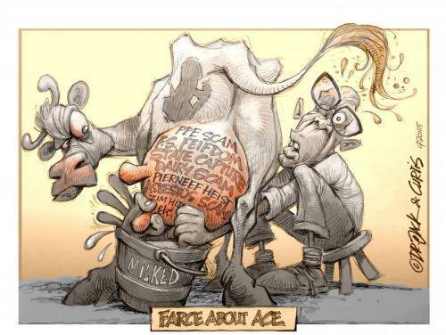 'Farce About Ace': Africartoons.com