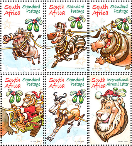 'Jungle Bells!': Africartoons.com