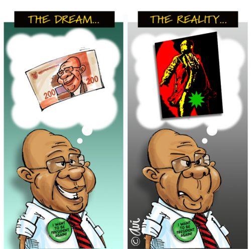 'Speared Reality Check': Africartoons.com
