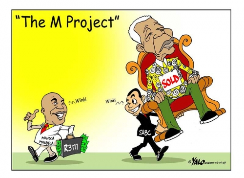 '2009: M is for Money': Africartoons.com
