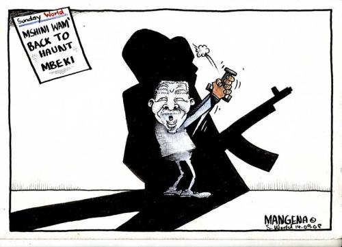 'The Night of the Machine Gun': Africartoons.com