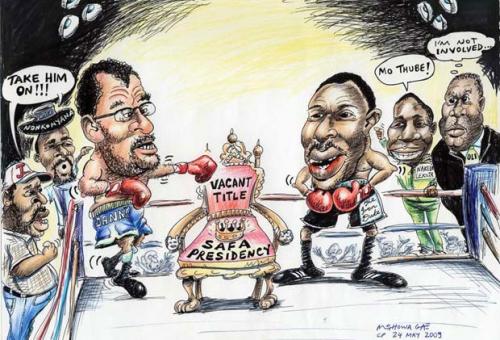 'Soccer Heavyweights': Africartoons.com