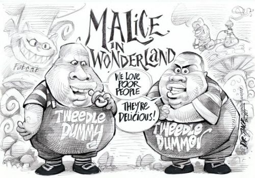 'Malice in Wonderland': Africartoons.com