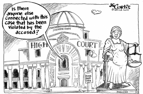 'Rape of Justice (published version)': Africartoons.com
