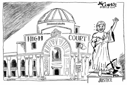'Rape of Justice (censored)': Africartoons.com
