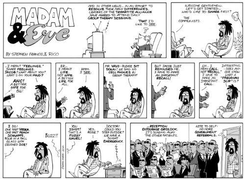 'Madam & Eve': Africartoons.com