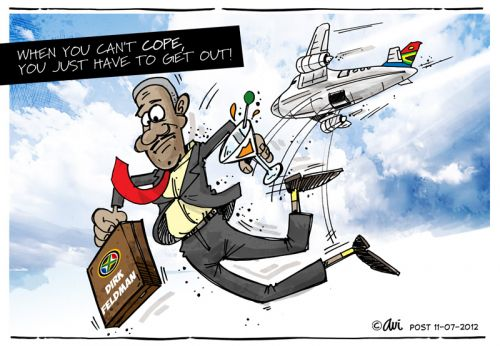 'Going Plane Crazy': Africartoons.com