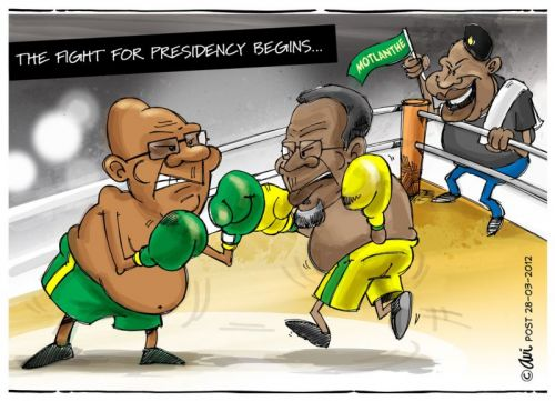 'Round Number One!': Africartoons.com