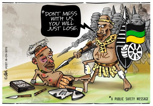 'Don't mess with us!': Africartoons.com