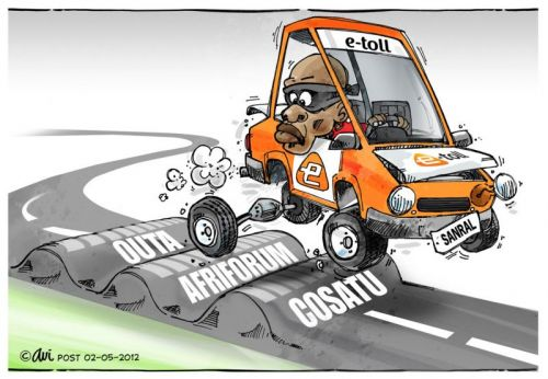 'The Wheels are coming off...': Africartoons.com
