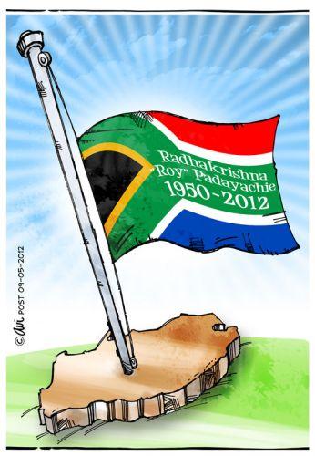 'Tribute to Roy Padayachie': Africartoons.com