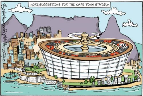 'More uses for Greenpoint Stadium': Africartoons.com