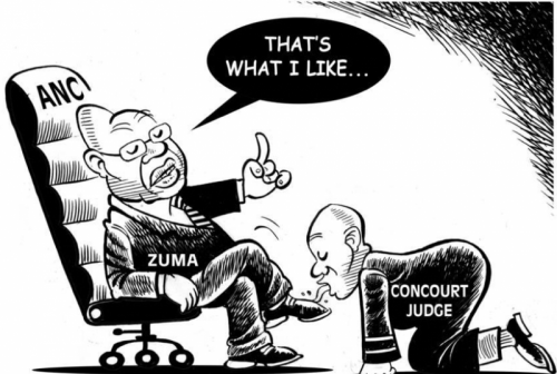 'The Presidential Court': Africartoons.com