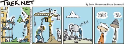 'Trek Net Energy Crisis': Africartoons.com