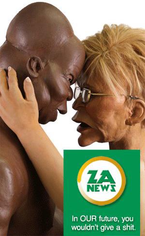 'ZA News and the DASO Poster': Africartoons.com