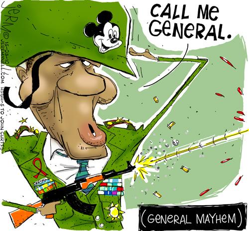 'General Mayhem': Africartoons.com