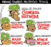 Military Ranks for Elected Officials...
