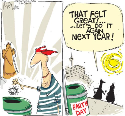 'Earth Day': Africartoons.com