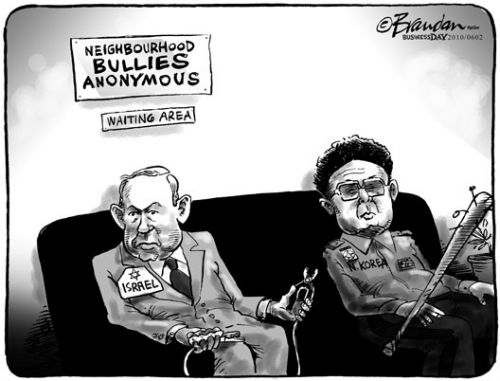 'Neighbourhood Bullies': Africartoons.com
