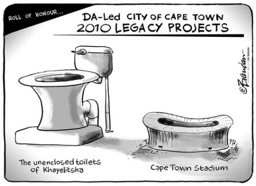 'DA's Outstanding Projects': Africartoons.com