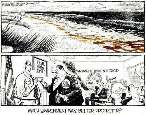 'Protecting the Environment': Africartoons.com