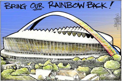 'Bring Our Rainbow Back!': Africartoons.com