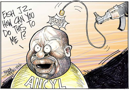 '&quot;Eish JZ, How can you do this to me!?&quot;': Africartoons.com
