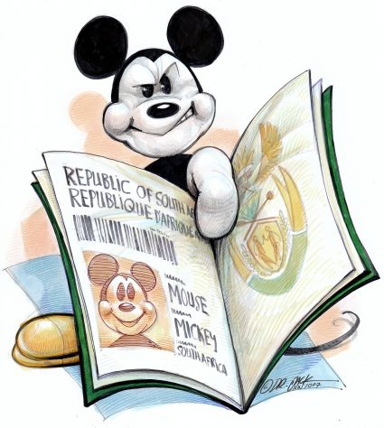 'Disney Pass': Africartoons.com