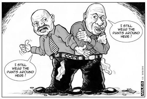 'Who wears the pants?': Africartoons.com