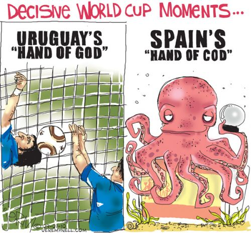 'Paul the Octopus': Africartoons.com