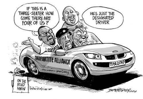 'Quadpartite Alliance?': Africartoons.com